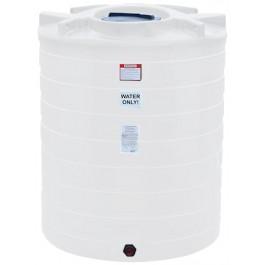 870 Gallon White Vertical Storage Tank