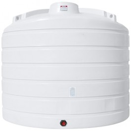 7011 Gallon White Vertical Storage Tank