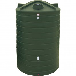 6250 Gallon Black Vertical Water Storage Tank