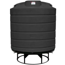 550 Gallon Black Cone Bottom Tank