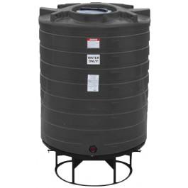 870 Gallon Black Cone Bottom Tank