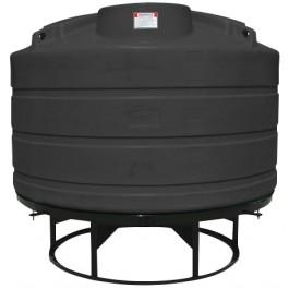 1600 Gallon Black Cone Bottom Tank