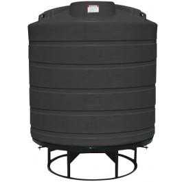 2000 Gallon Black Cone Bottom Tank