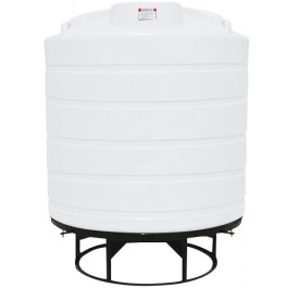 2000 Gallon White Cone Bottom Tank