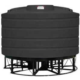 2020 Gallon Black Cone Bottom Tank