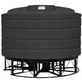 2520 Gallon Black Cone Bottom Tank