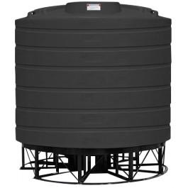 4000 Gallon Black Cone Bottom Tank