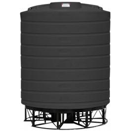 5000 Gallon Black Cone Bottom Tank