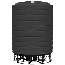 6000 Gallon Black Cone Bottom Tank