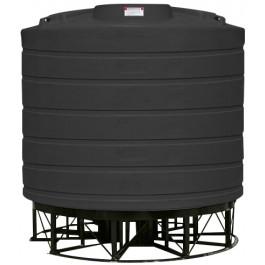 7011 Gallon Black Cone Bottom Tank