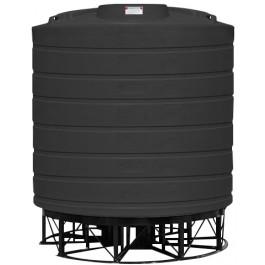 8000 Gallon Black Cone Bottom Tank