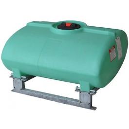 100 Gallon Green Horizontal Sump Bottom Leg Tank w/ Frame