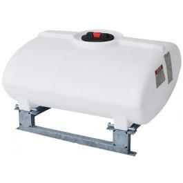100 Gallon White Horizontal Sump Bottom Leg Tank