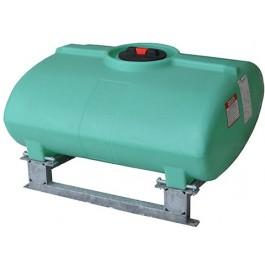 150 Gallon Green Horizontal Sump Bottom Leg Tank w/ Frame
