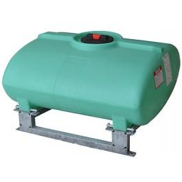 200 Gallon Green Horizontal Sump Bottom Leg Tank w/ Frame