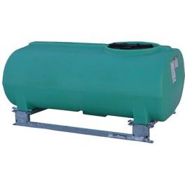 300 Gallon Green Horizontal Sump Bottom Leg Tank w/ Frame