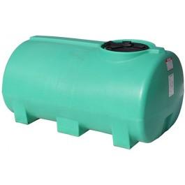 400 Gallon Green Horizontal Sump Bottom Leg Tank