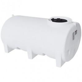 800 Gallon White Horizontal Sump Bottom Leg Tank