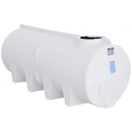 1010 Gallon White Horizontal Sump Bottom Leg Tank