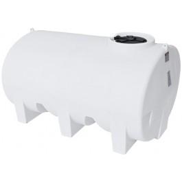 1200 Gallon White Horizontal Sump Bottom Leg Tank