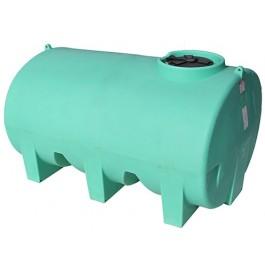 1400 Gallon Green Horizontal Sump Bottom Leg Tank