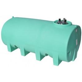 1600 Gallon Green Horizontal Sump Bottom Leg Tank