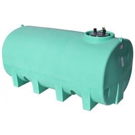 1900 Gallon Green Horizontal Sump Bottom Leg Tank