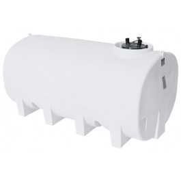 1900 Gallon White Horizontal Sump Bottom Leg Tank