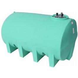 2500 Gallon Green Horizontal Sump Bottom Leg Tank