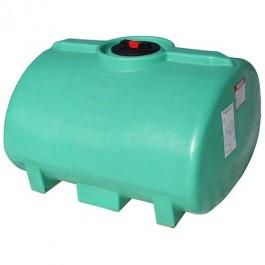 100 Gallon Green Horizontal Leg Tank