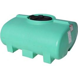 200 Gallon Green Horizontal Leg Tank