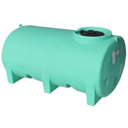 800 Gallon Green Horizontal Leg Tank