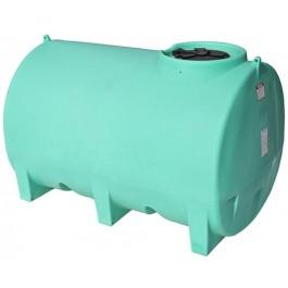 1100 Gallon Green Horizontal Leg Tank