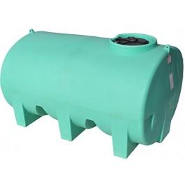 1200 Gallon Green Horizontal Leg Tank