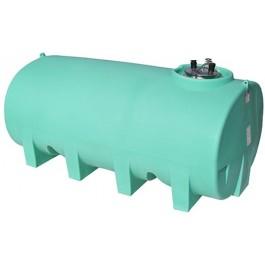 1600 Gallon Green Horizontal Leg Tank