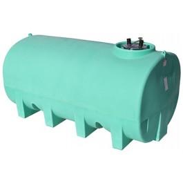 1900 Gallon Green Horizontal Leg Tank