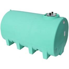2200 Gallon Green Horizontal Leg Tank