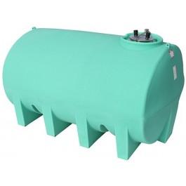 2500 Gallon Green Horizontal Leg Tank