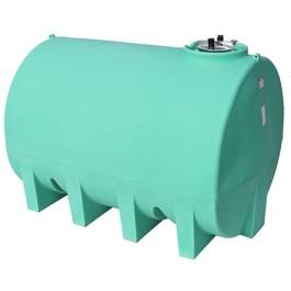 3000 Gallon Green Horizontal Leg Tank