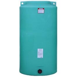 340 Gallon Green Vertical Storage Tank