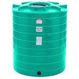870 Gallon Green Vertical Storage Tank