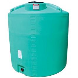 1400 Gallon Green Vertical Storage Tank