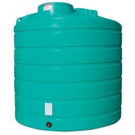 2000 Gallon Green Vertical Storage Tank