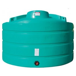 2020 Gallon Green Vertical Storage Tank
