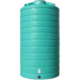 5200 Gallon Green Vertical Storage Tank