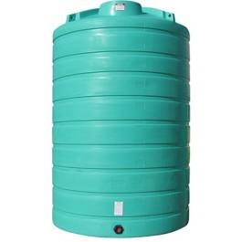 6000 Gallon Green Vertical Storage Tank