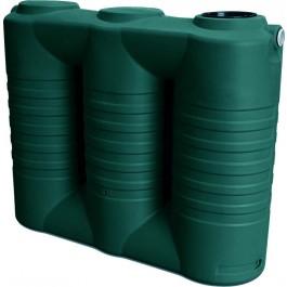 790 Gallon Dark Green Slimline Water Storage Tank