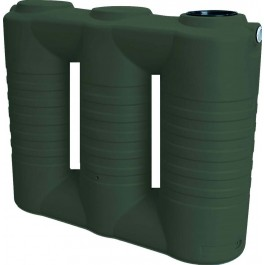 790 Gallon Mist Green Slimline Water Storage Tank