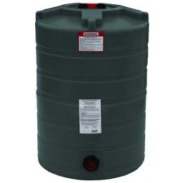 100 Gallon Dark Green Vertical Water Storage Tank