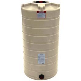 150 Gallon Beige Vertical Water Storage Tank